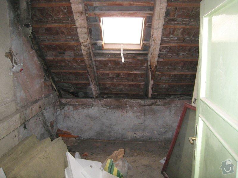 Rekonstrukce podkrovního bytu: IMG_0343