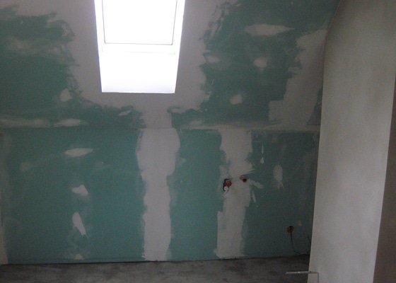 Rekonstrukce podkrovního bytu