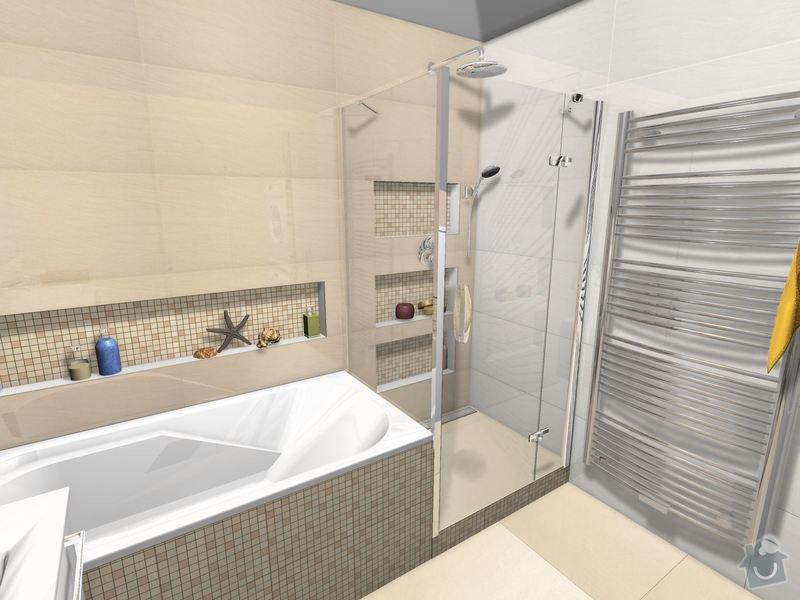 Položení dlažby a obkladů koupelna + 2xWC: Koupelna_Magnific_var.2-01_2