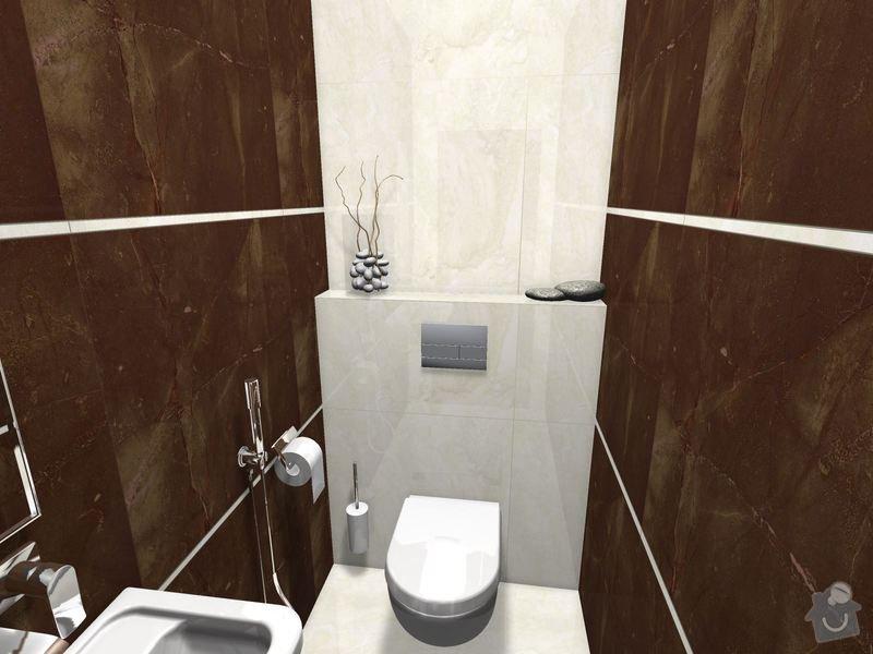 Položení dlažby a obkladů koupelna + 2xWC: WC_Prizemi-03_1