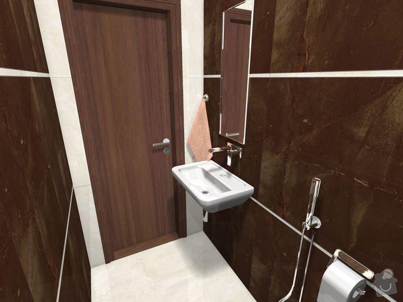 Položení dlažby a obkladů koupelna + 2xWC: WC_Prizemi-03_4