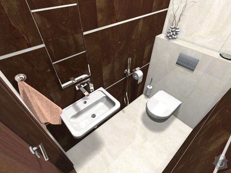 Položení dlažby a obkladů koupelna + 2xWC: WC_Prizemi-03_6