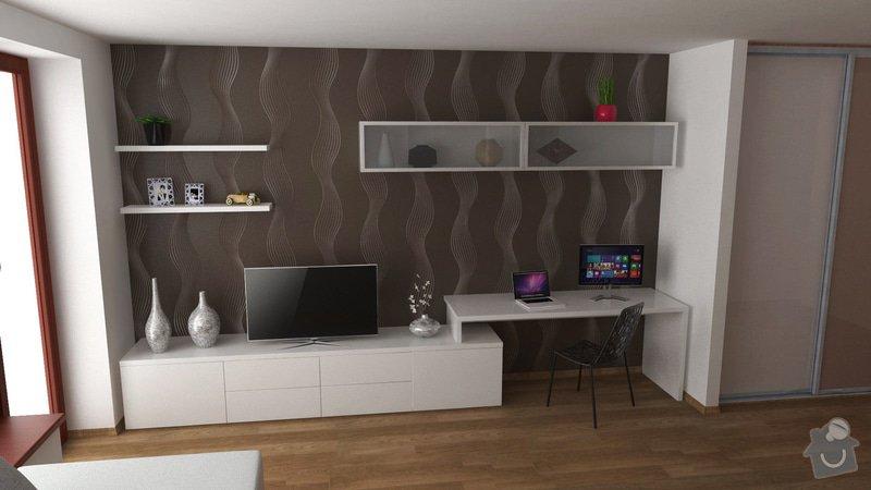 Návrh interiéru obývacího pokoje: OB6_