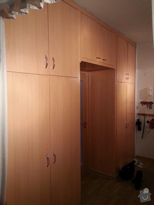 Rekonstrukce vestavěných skříní: skrin