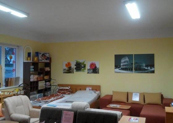 Rekonstrukce osvětlení prodejny s nábytkem