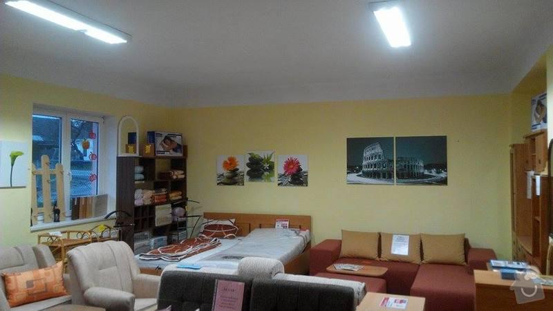 Rekonstrukce osvětlení prodejny s nábytkem: 10799800_10202345587675124_1710998546_n