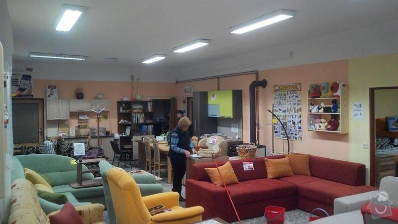 Rekonstrukce osvětlení prodejny s nábytkem: 10807039_10202345588955156_717084414_n
