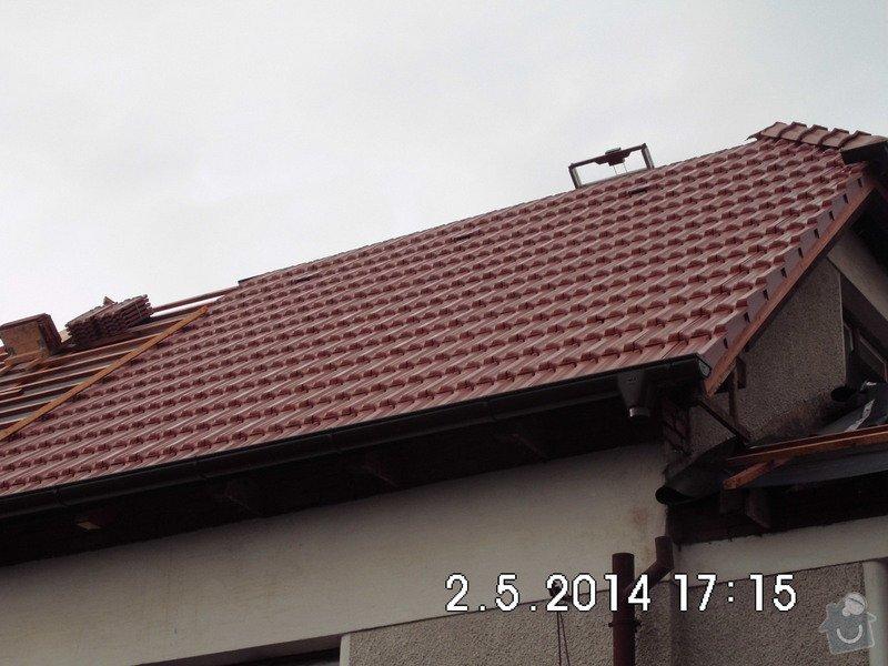 Instalaci hromosvodu na rodinný domek: IMG_0052