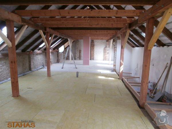 Rekonstrukce podkroví a střechy: 07