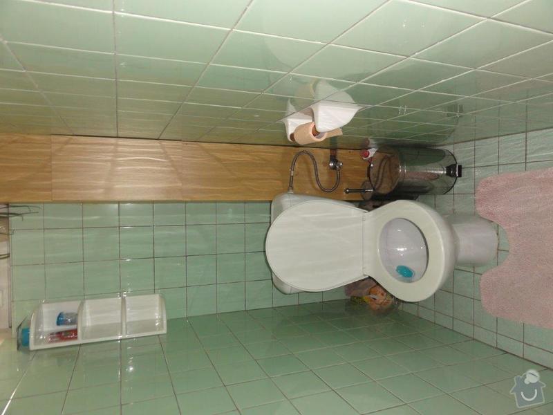 Rekonstrukce koupelny a WC: DSC08024