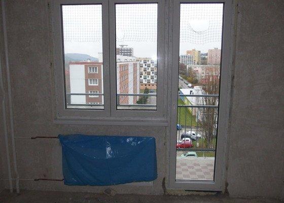 Plastové okna ,zasklení lodžie