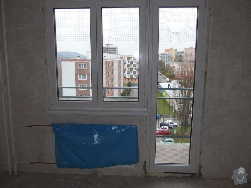 Plastové okna ,zasklení lodžie: PB220269