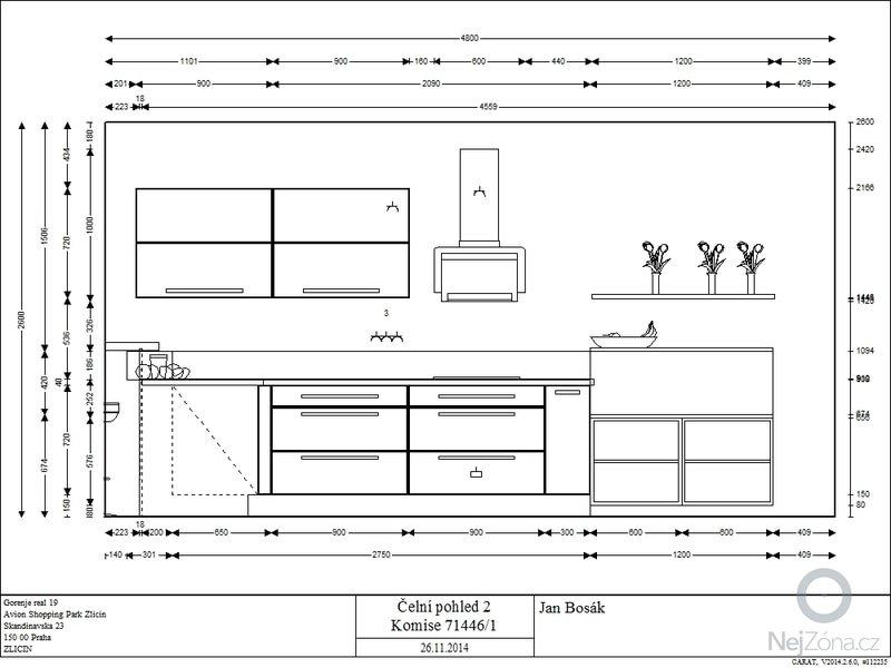 Zhotovení kuchyňské linky: 71446-1_F02