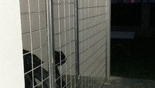 Mříž pod schody celková plocha cca10m2