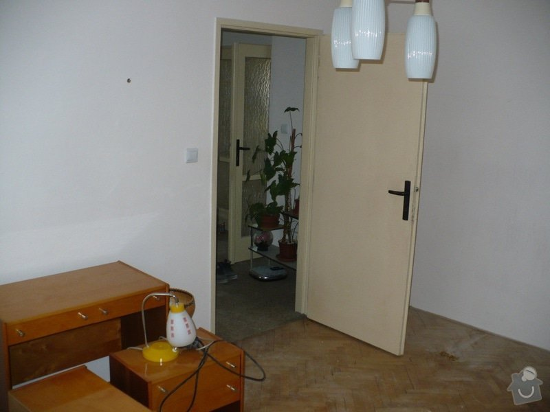 Renovace 6 ks dveří v bytě: Loznice2
