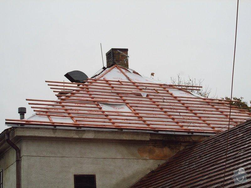 Nová střecha (materiál vlastní): IMGP2014-10-17_10-03-43