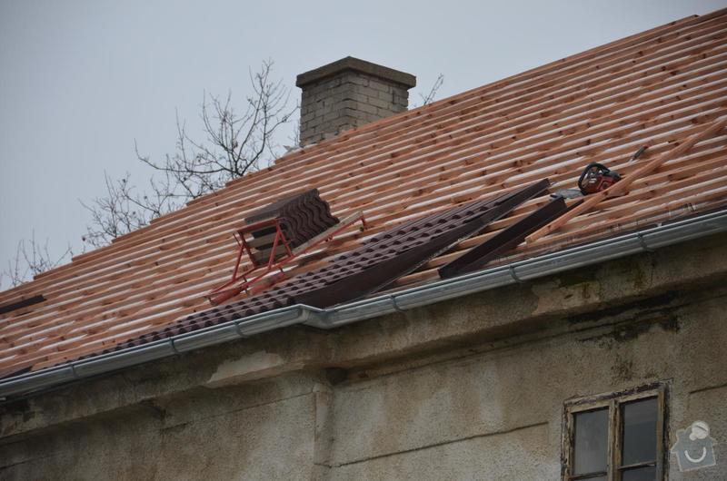 Nová střecha (materiál vlastní): IMGP2014-11-10_17-28-50