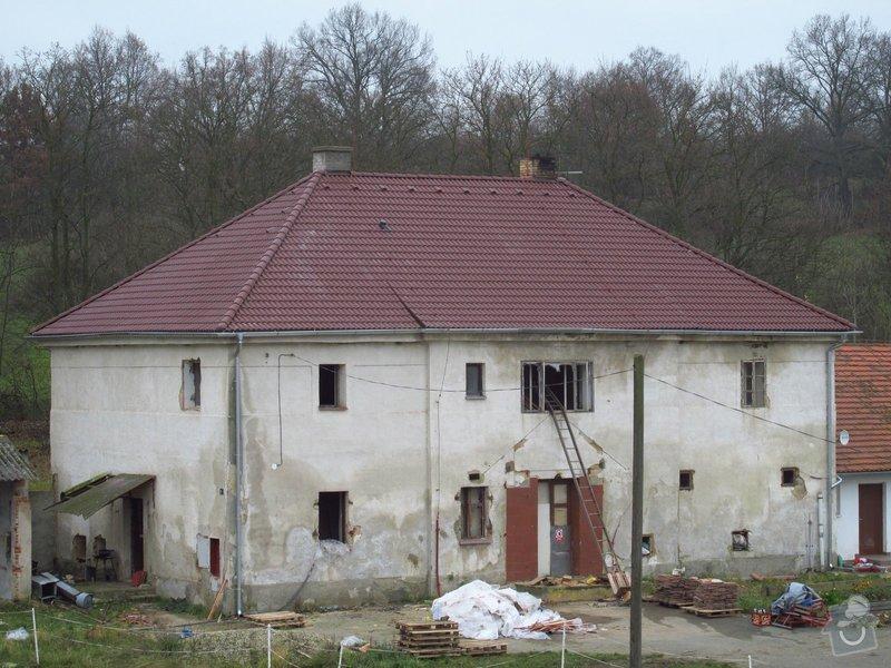 Nová střecha (materiál vlastní): IMGP2014-11-26_13-13-50