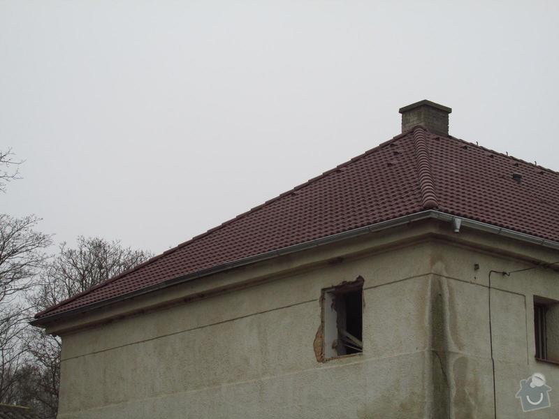 Nová střecha (materiál vlastní): IMGP2014-11-26_13-17-04