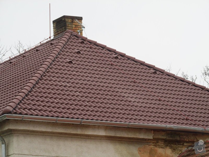Nová střecha (materiál vlastní): IMGP2014-11-26_13-17-54