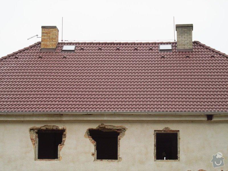 Nová střecha (materiál vlastní): IMGP2014-11-26_13-19-33
