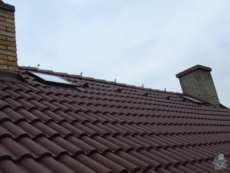 Nová střecha (materiál vlastní): IMGP2014-11-26_13-20-50