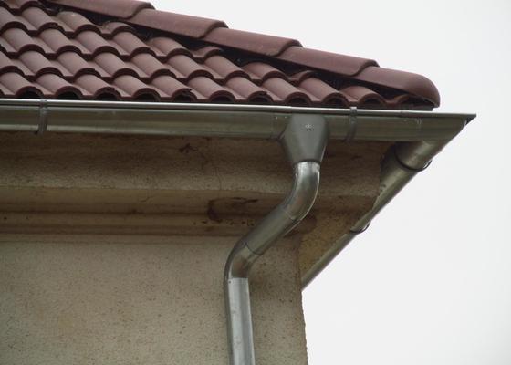 Nová střecha (materiál vlastní)