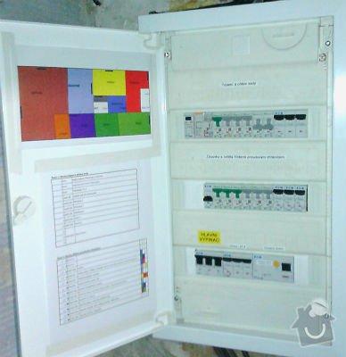 Opravu elektroinstalace v rodinném domku: rozvadec_po