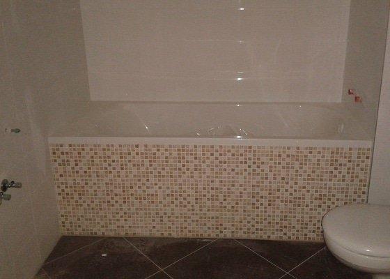Rekonstrukce koupelny a částečně bytu