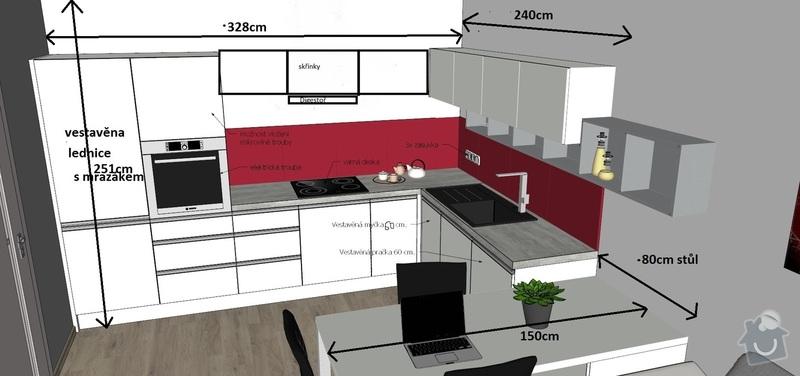 Kuchyňskou linku na míru : Kuchyne