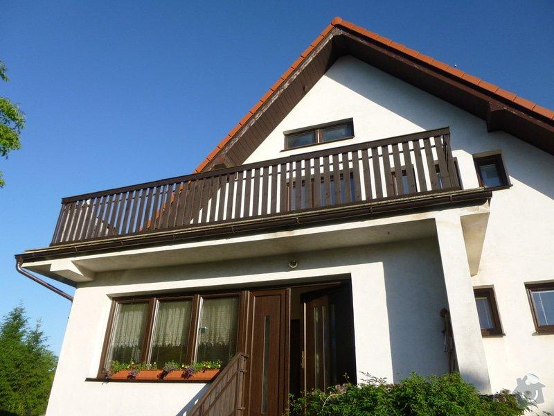 Oplechování balkonu: P1020026