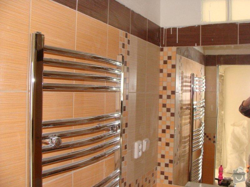 Rekonstrukce koupelny, elektroinstalace, : 032