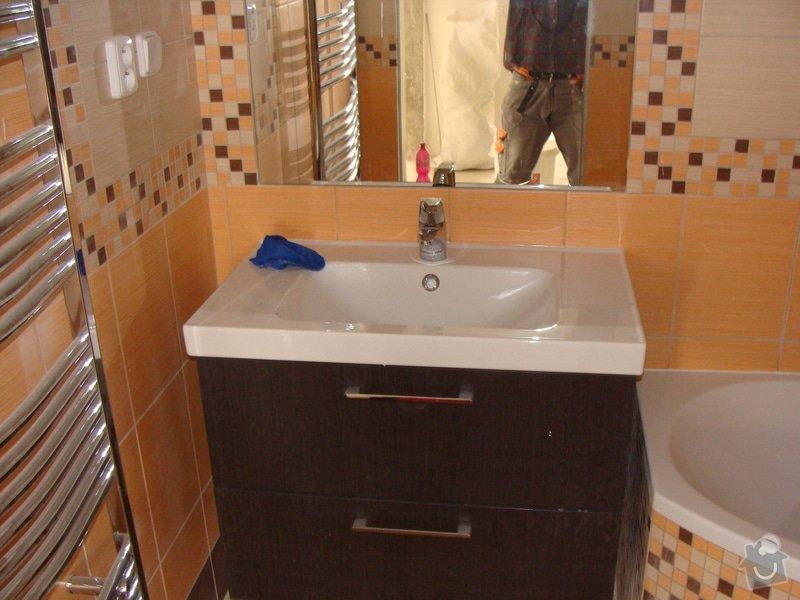 Rekonstrukce koupelny, elektroinstalace, : 033