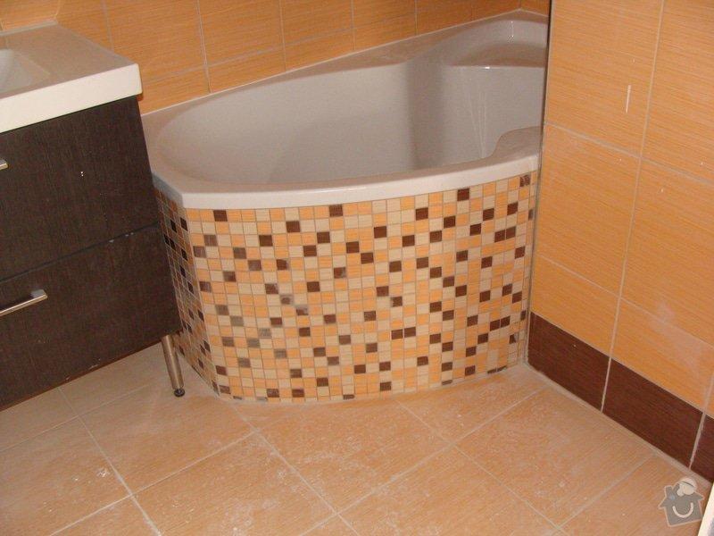 Rekonstrukce koupelny, elektroinstalace, : 035