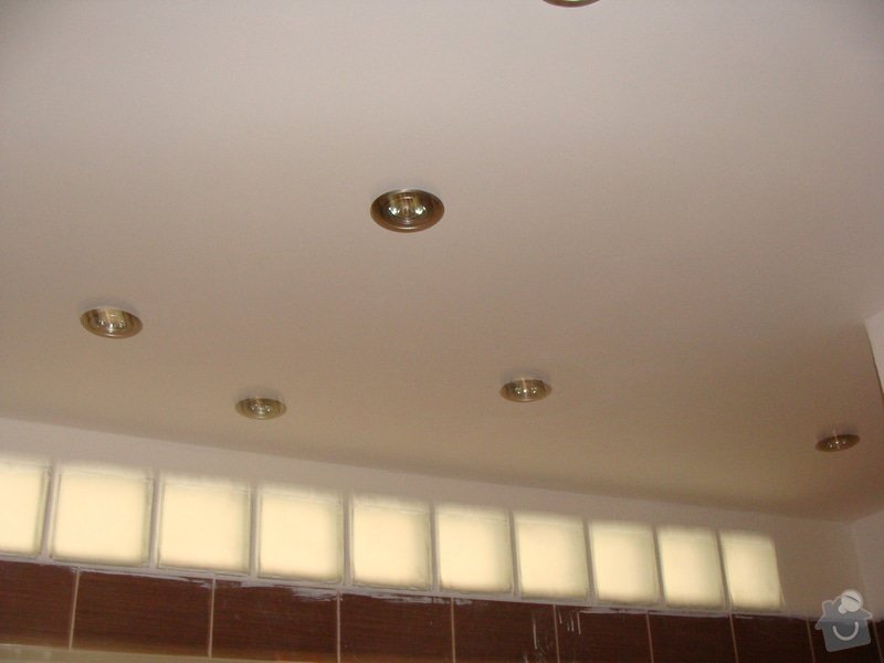 Rekonstrukce koupelny, elektroinstalace, : 036