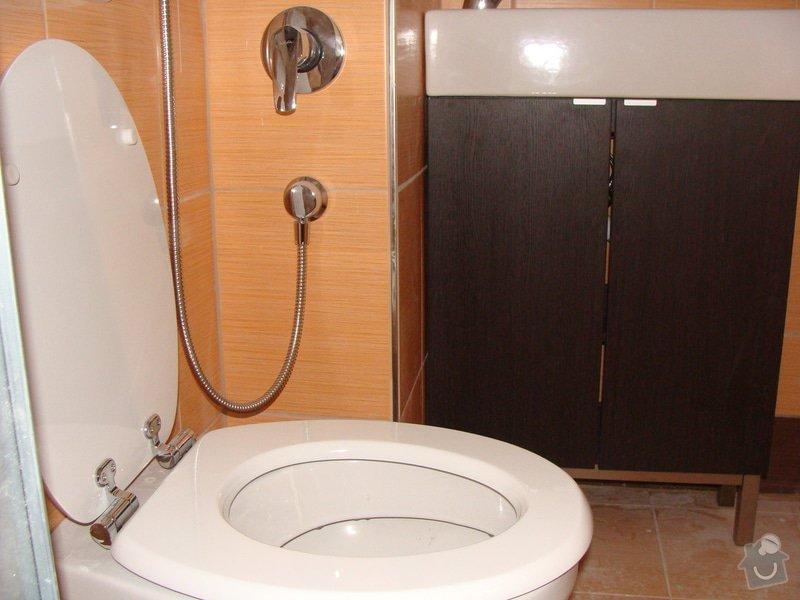 Rekonstrukce koupelny, elektroinstalace, : 052