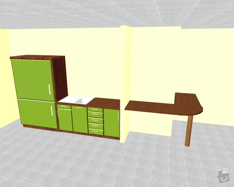 Kuchyňská linka: projekt1