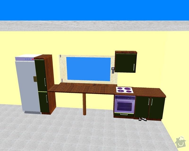 Kuchyňská linka: projekt2