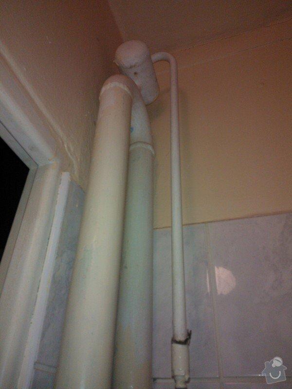 Žebříkové topení v koupelně: WP_000158