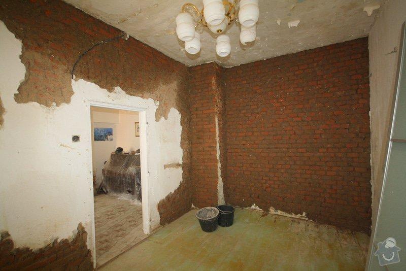Zavedení elektroinstalace ve 4 pokojích a na schodišti: 1-IMG_8669