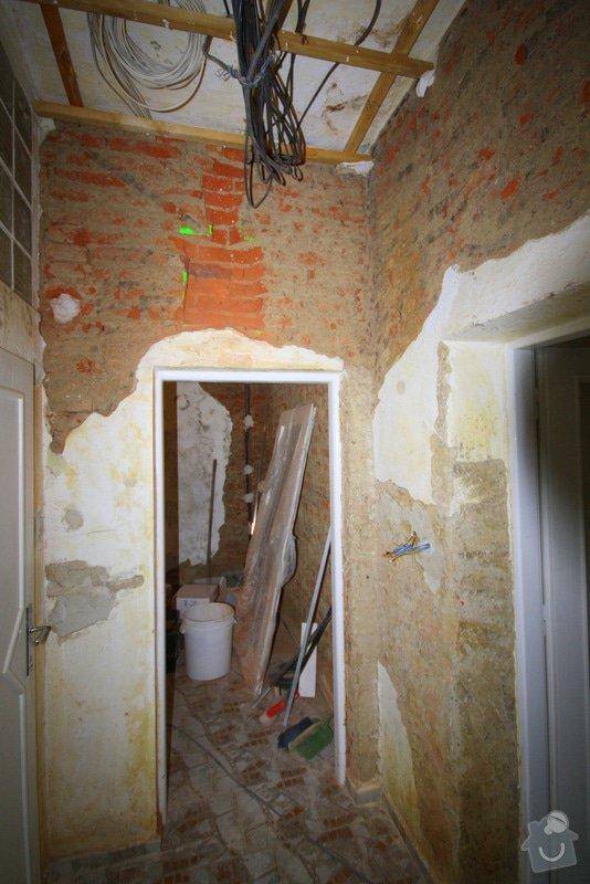 Zavedení elektroinstalace ve 4 pokojích a na schodišti: 3-IMG_9228