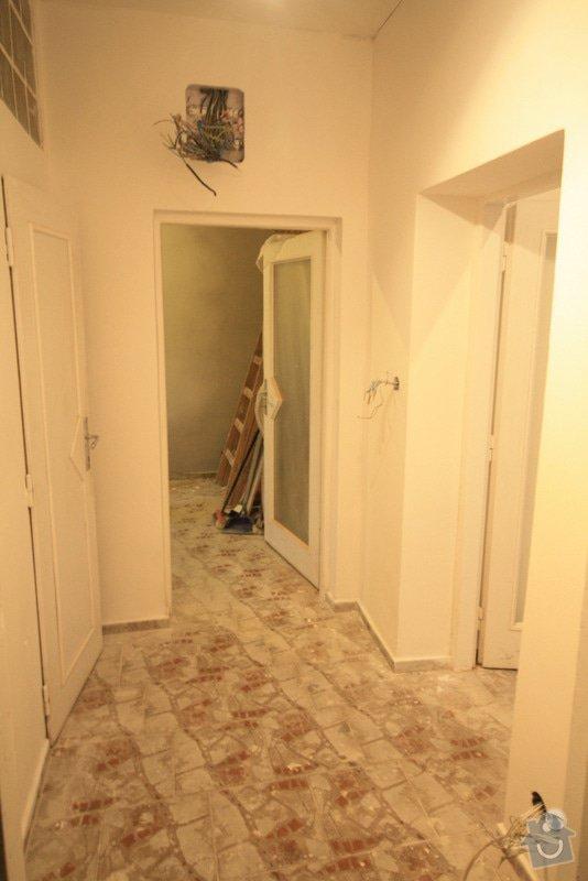 Zavedení elektroinstalace ve 4 pokojích a na schodišti: 4-IMG_9260