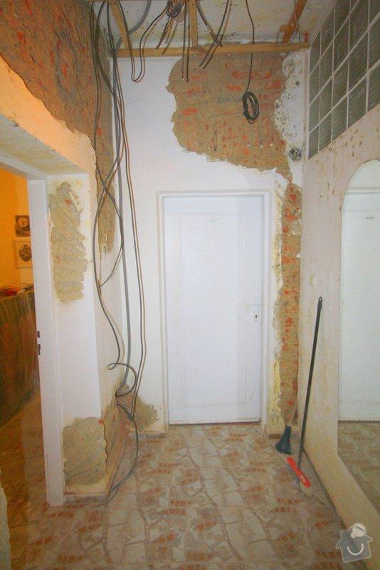 Zavedení elektroinstalace ve 4 pokojích a na schodišti: 5-IMG_9209