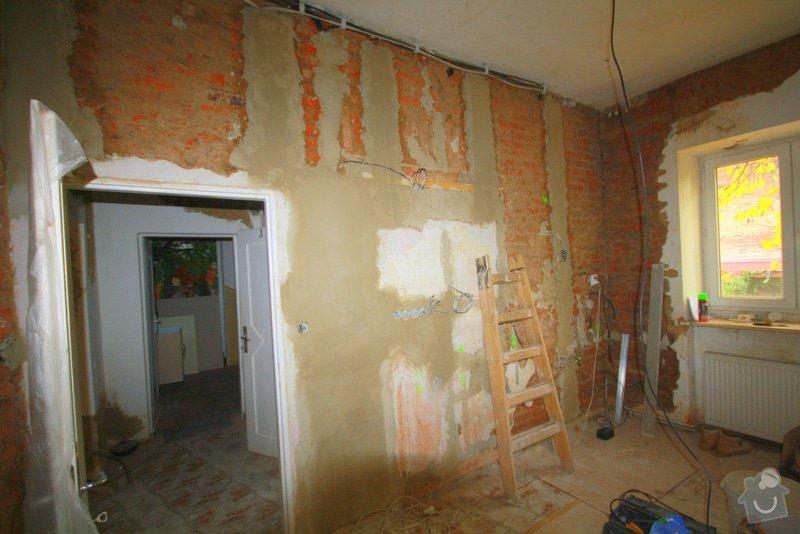 Zavedení elektroinstalace ve 4 pokojích a na schodišti: 7-IMG_9193