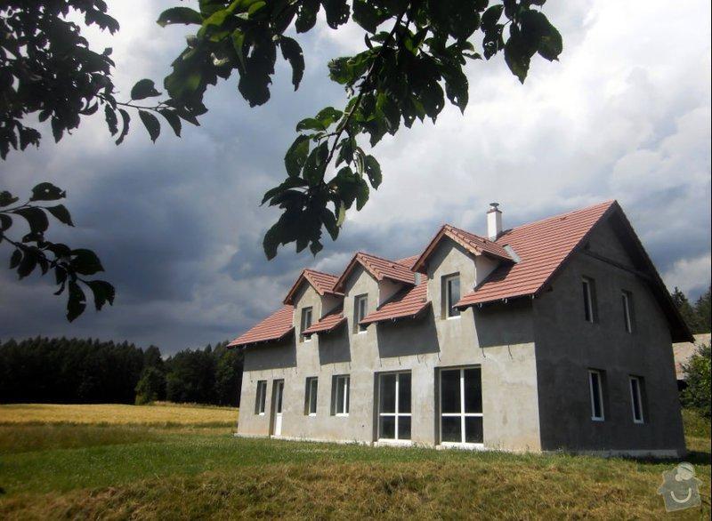 Výstavba energeticky nulové rodinné rezidence: javor
