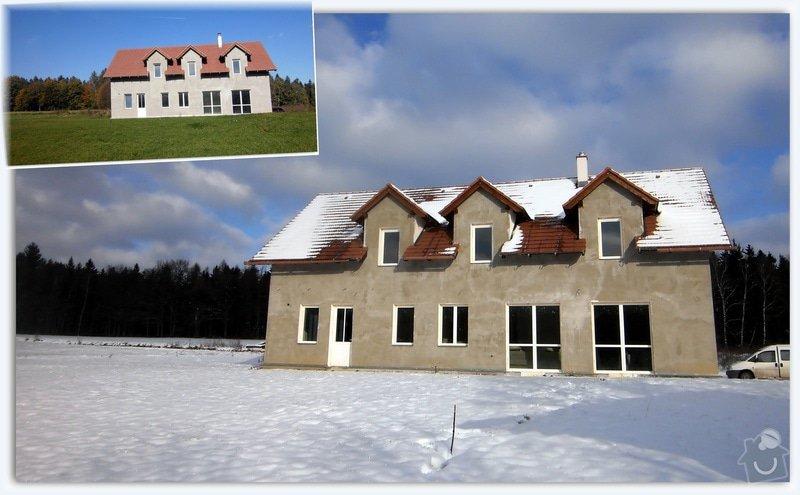 Výstavba energeticky nulové rodinné rezidence: javor.ka