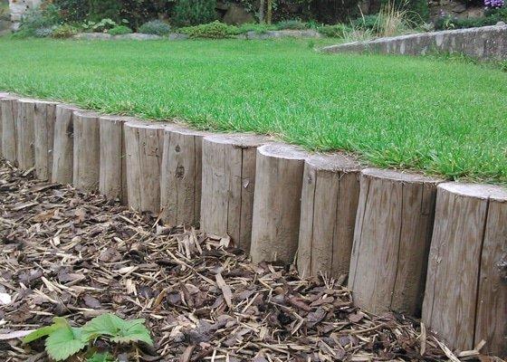 Udržba zeleně a keřů, založení trávníku