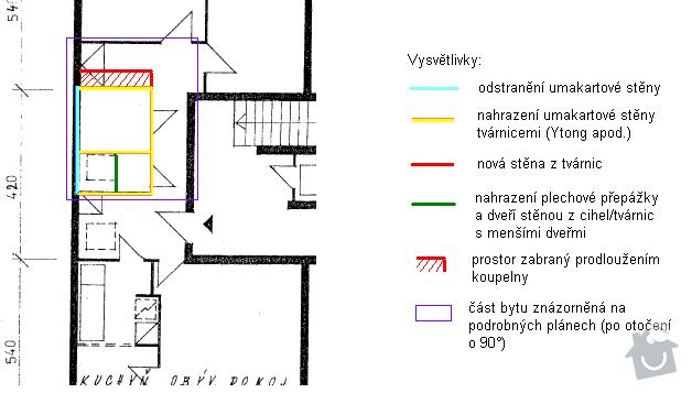 Rekonstrukce bytového jádra: prodlouzeni_jadra_40_cm