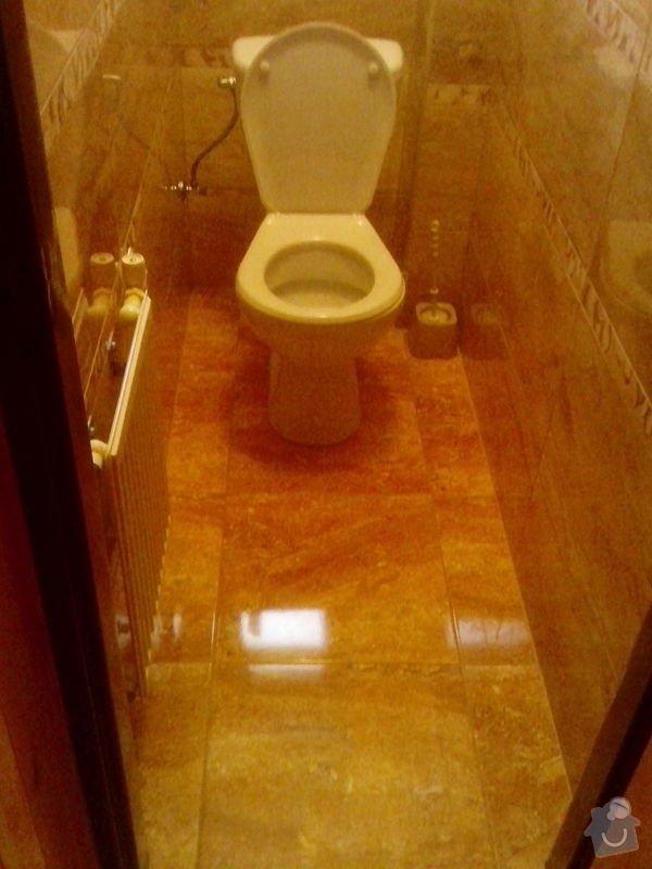 Rekonstrukce koupelny a záchodu: a