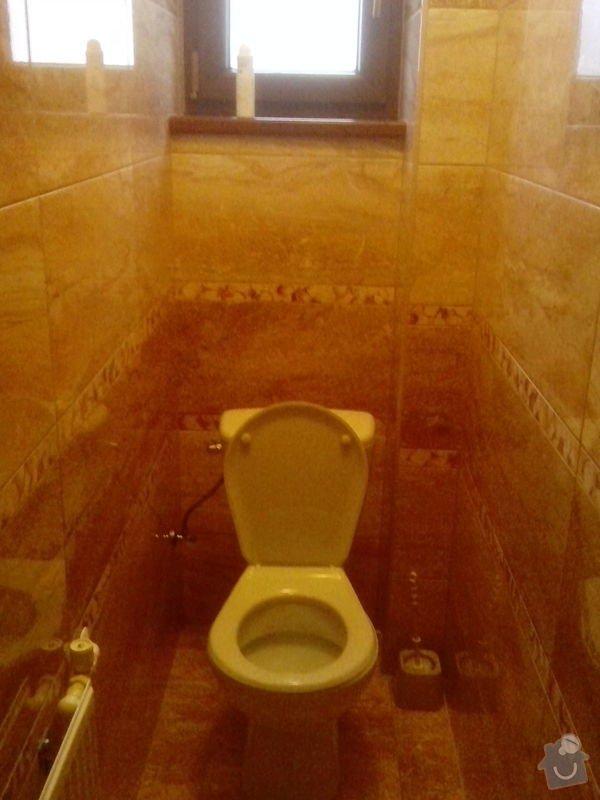 Rekonstrukce koupelny a záchodu: b